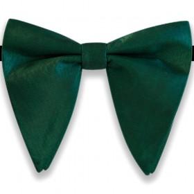 Papion amplu, model French Charm, elegant, verde smarald uni