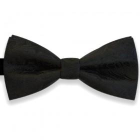 Papion negru, elegant, clasic, model Luxury Line