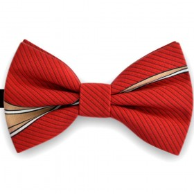 Papion barbati, rosu Ferrari, imprimeuri linii curbate