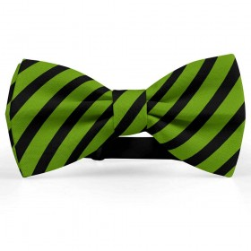 Papion barbati, verde-avocado, dungi negre late oblice