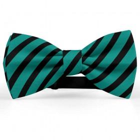 Papion barbati, verde-pin, dungi negre late oblice
