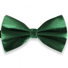 Papion verde uni butterfly