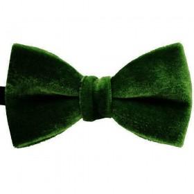 .Papion catifea verde inchis