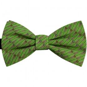 Papion verde prasin, imprimeu imagini figurative