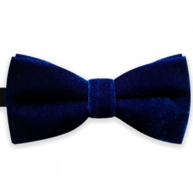 Papion de catifea, clasic, model Royal Blue