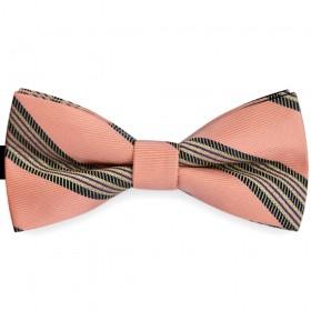 Papion barbati roz pal, clasic, imprimeuri etnice